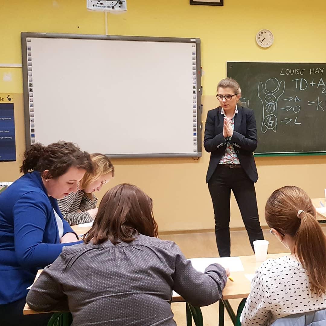 Marzę o szkole z nauczycielami, którzy realizują SIEBIE.